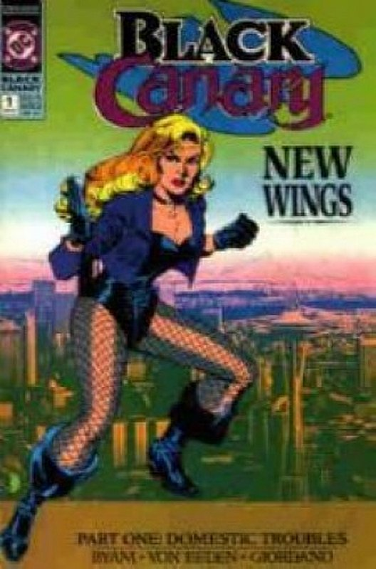 Cover of Black Canary (1991 Ltd) #1. One of 250,000 Vintage American Comics on sale from Krypton!
