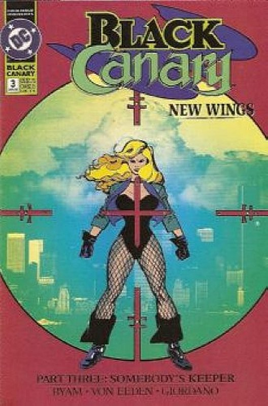 Cover of Black Canary (1991 Ltd) #3. One of 250,000 Vintage American Comics on sale from Krypton!