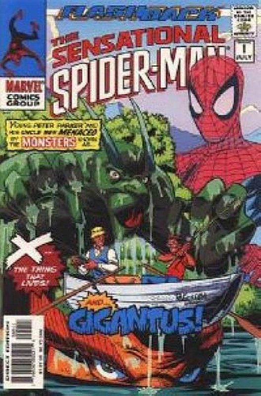 Cover of Sensational Spider-Man (Vol 1) #-1. One of 250,000 Vintage American Comics on sale from Krypton!