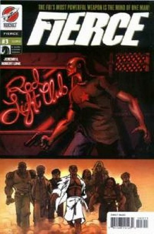Cover of Fierce (2004 Ltd) #3. One of 250,000 Vintage American Comics on sale from Krypton!
