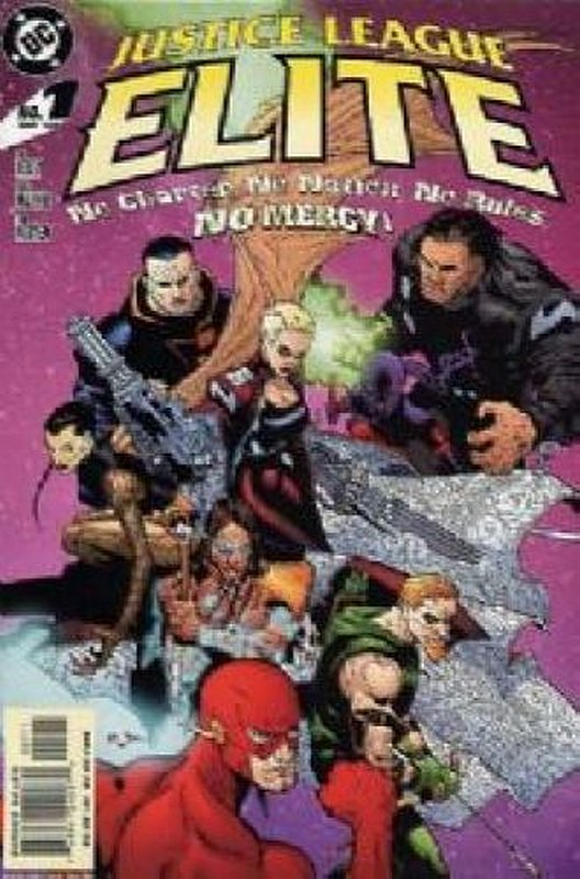 Cover of Justice League Elite (2004 Ltd) #1. One of 250,000 Vintage American Comics on sale from Krypton!