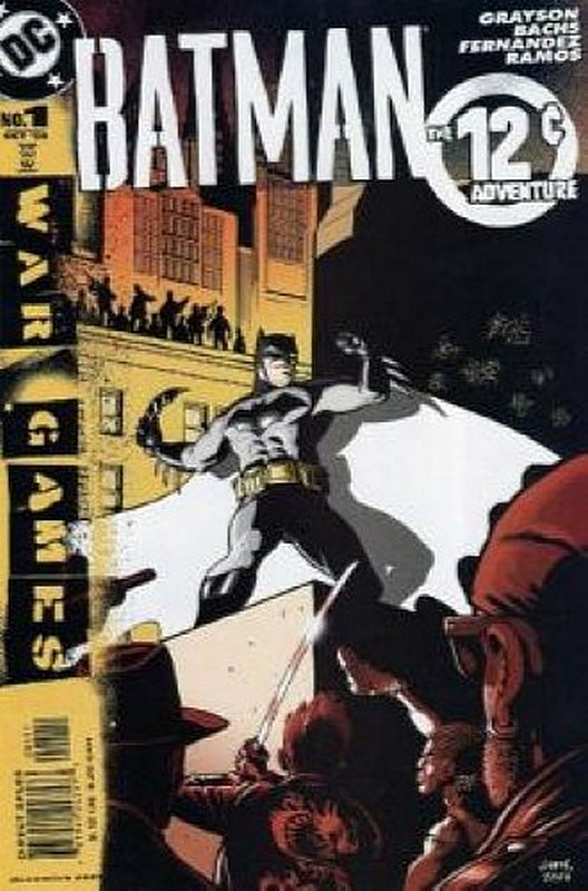 Cover of Batman: 12 Cent Adventure (2004 One Shot) #1. One of 250,000 Vintage American Comics on sale from Krypton!