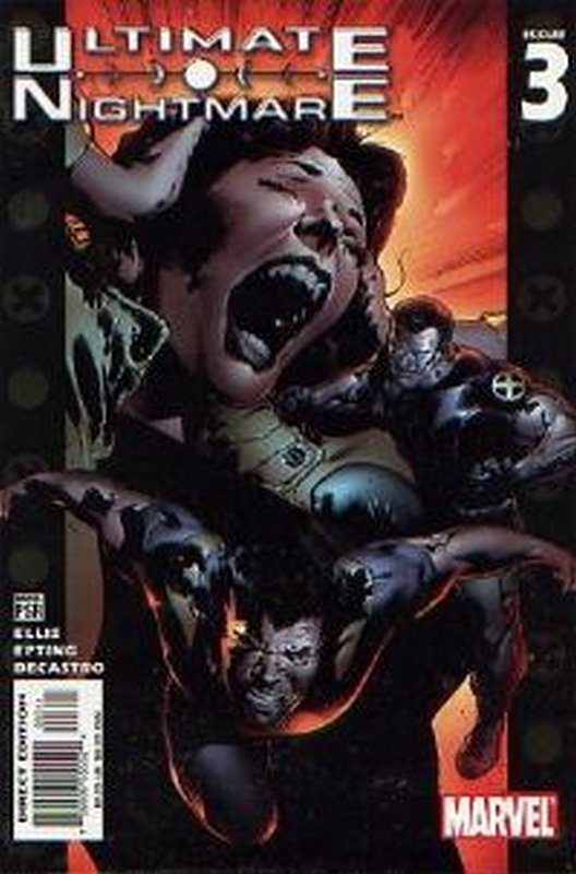 Cover of Ultimate Nightmare (2004 Ltd) #3. One of 250,000 Vintage American Comics on sale from Krypton!