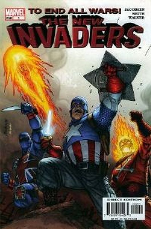 Cover of Invaders (Vol 2) The New #2. One of 250,000 Vintage American Comics on sale from Krypton!