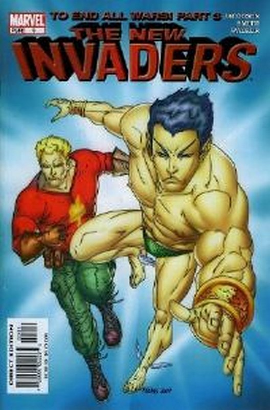 Cover of Invaders (Vol 2) The New #3. One of 250,000 Vintage American Comics on sale from Krypton!
