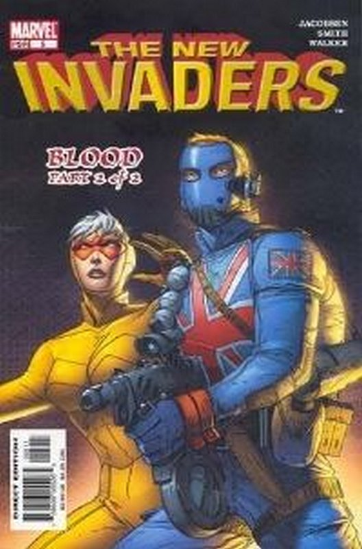 Cover of Invaders (Vol 2) The New #5. One of 250,000 Vintage American Comics on sale from Krypton!
