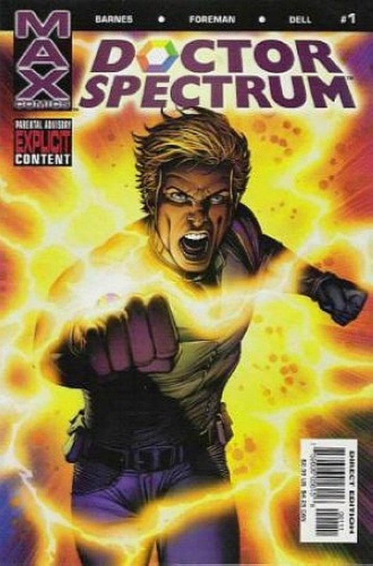 Cover of Doctor Spectrum (2004 Ltd) #1. One of 250,000 Vintage American Comics on sale from Krypton!