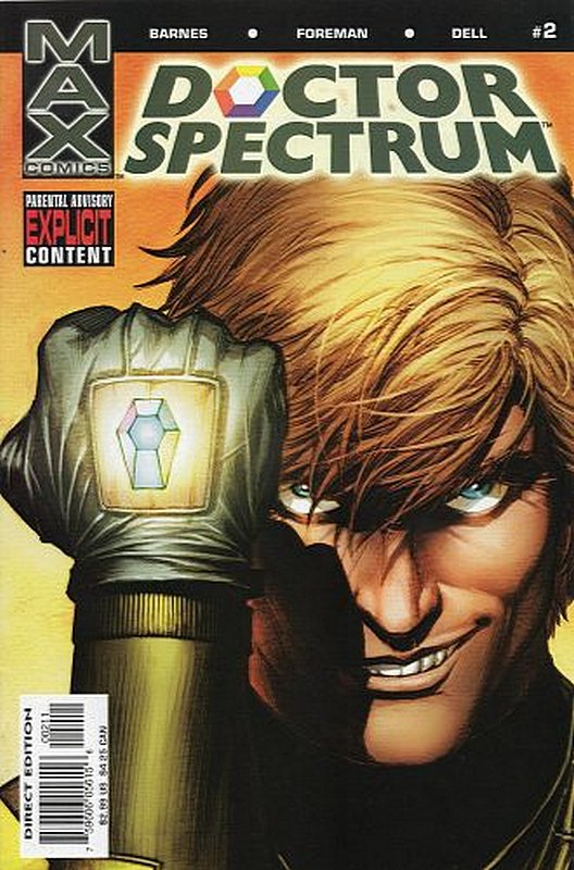 Cover of Doctor Spectrum (2004 Ltd) #2. One of 250,000 Vintage American Comics on sale from Krypton!
