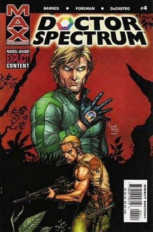 Cover of Doctor Spectrum (2004 Ltd) #4. One of 250,000 Vintage American Comics on sale from Krypton!