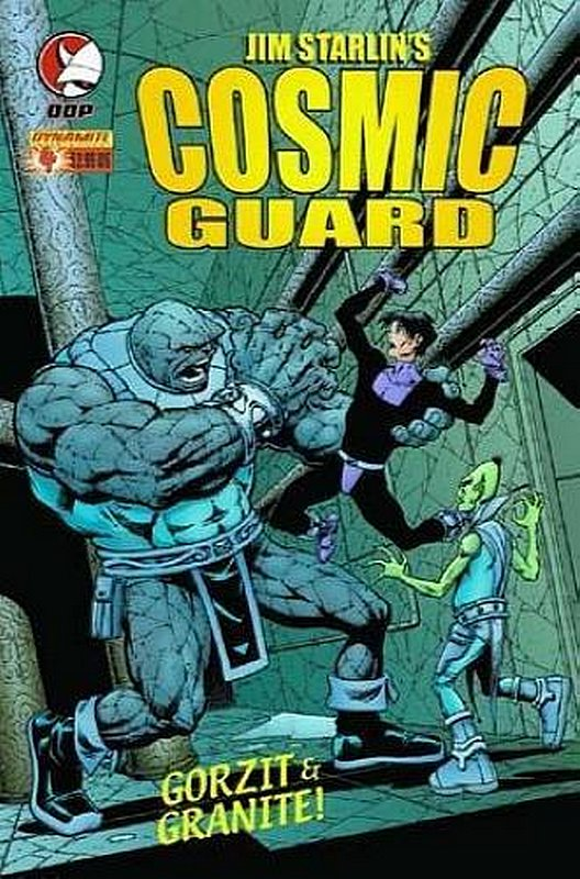 Cover of Cosmic Guard (Vol 1) #4. One of 250,000 Vintage American Comics on sale from Krypton!