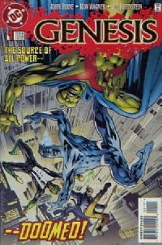 Cover of Genesis (1997 Ltd) #1. One of 250,000 Vintage American Comics on sale from Krypton!