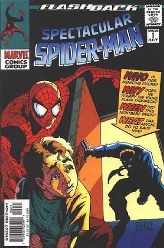 Cover of Spectacular Spider-Man (Vol 1) #-1. One of 250,000 Vintage American Comics on sale from Krypton!