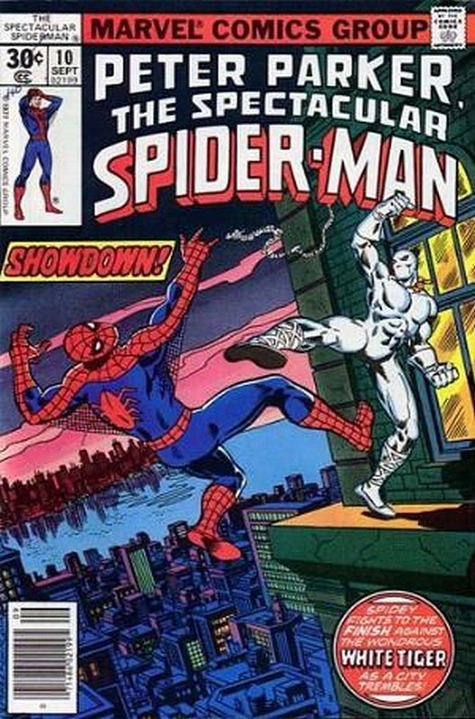 Cover of Spectacular Spider-Man (Vol 1) #10. One of 250,000 Vintage American Comics on sale from Krypton!