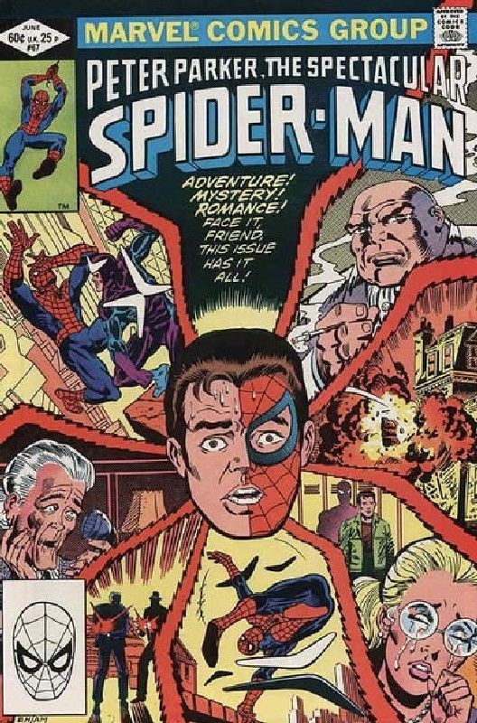 Cover of Spectacular Spider-Man (Vol 1) #67. One of 250,000 Vintage American Comics on sale from Krypton!