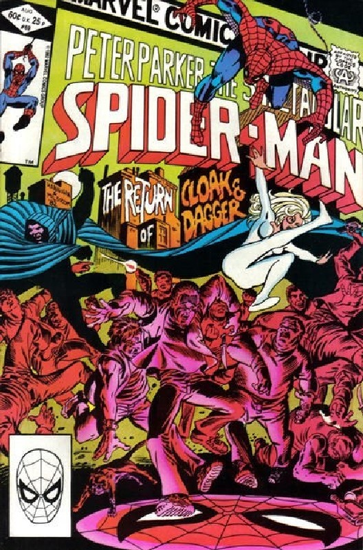 Cover of Spectacular Spider-Man (Vol 1) #69. One of 250,000 Vintage American Comics on sale from Krypton!