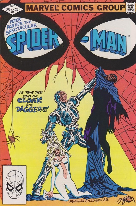 Cover of Spectacular Spider-Man (Vol 1) #70. One of 250,000 Vintage American Comics on sale from Krypton!