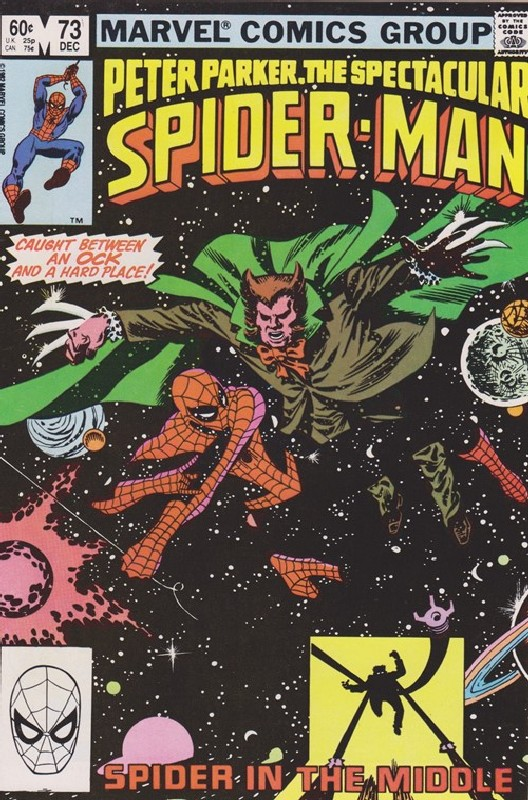 Cover of Spectacular Spider-Man (Vol 1) #73. One of 250,000 Vintage American Comics on sale from Krypton!