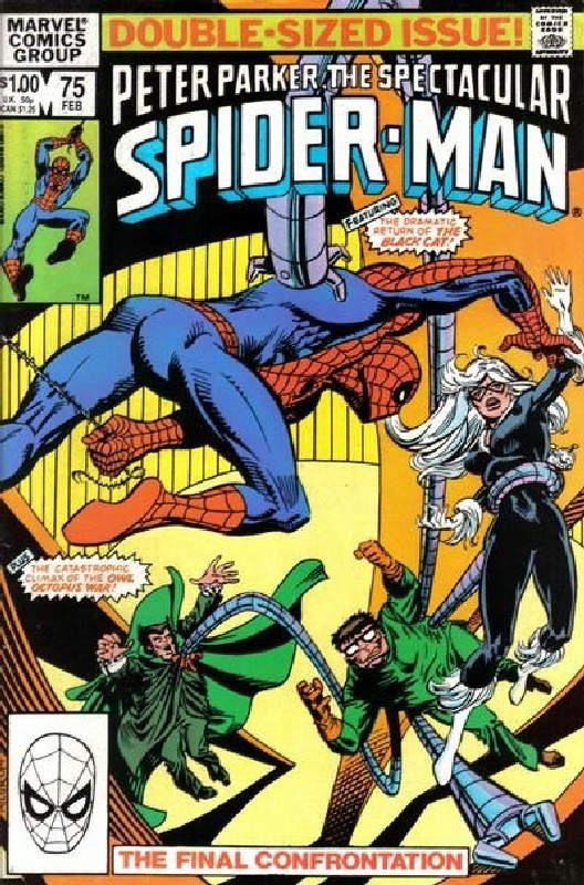 Cover of Spectacular Spider-Man (Vol 1) #75. One of 250,000 Vintage American Comics on sale from Krypton!