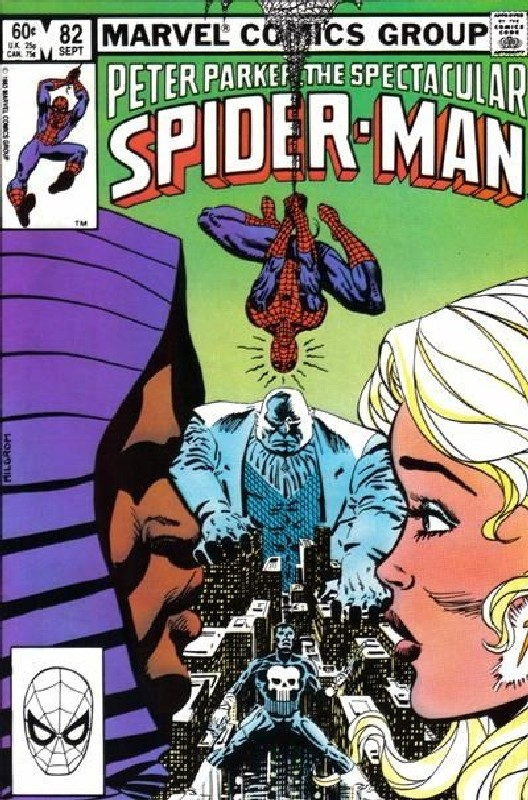 Cover of Spectacular Spider-Man (Vol 1) #82. One of 250,000 Vintage American Comics on sale from Krypton!