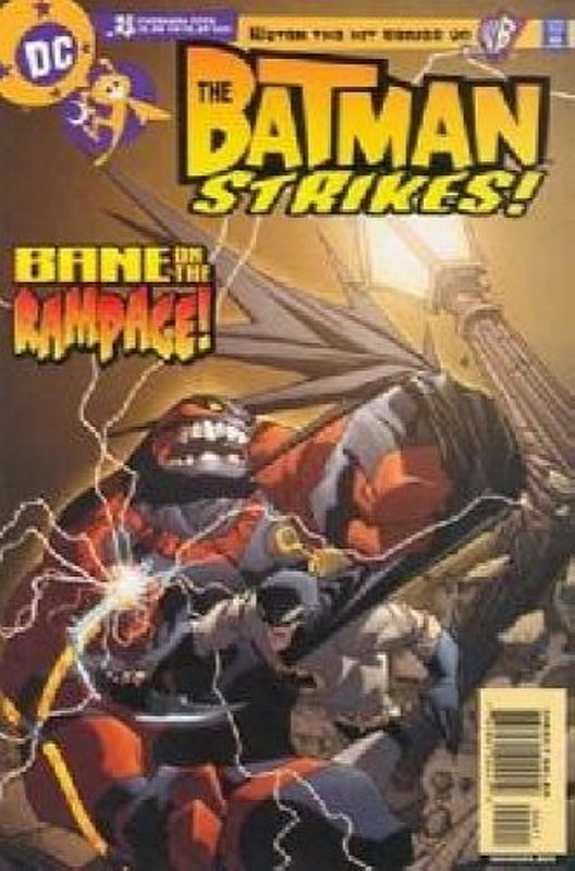 Cover of Batman Strikes (Vol 1) #4. One of 250,000 Vintage American Comics on sale from Krypton!