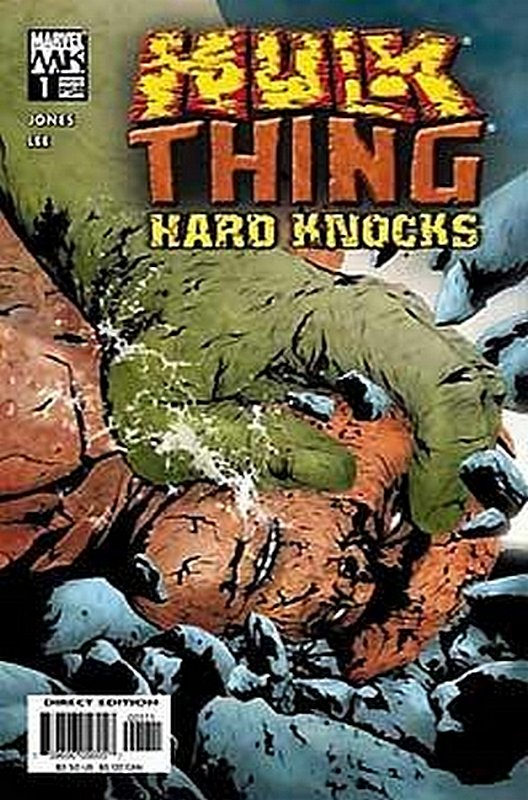 Cover of Hulk & Thing: Hard Knocks (2004 Ltd) #1. One of 250,000 Vintage American Comics on sale from Krypton!