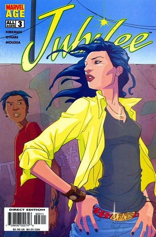 Cover of Jubilee (Vol 1) #3. One of 250,000 Vintage American Comics on sale from Krypton!