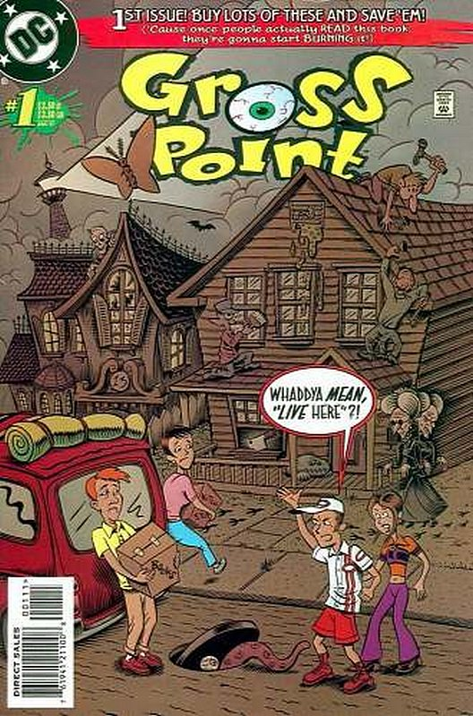 Cover of Gross Point (Vol 1) #1. One of 250,000 Vintage American Comics on sale from Krypton!