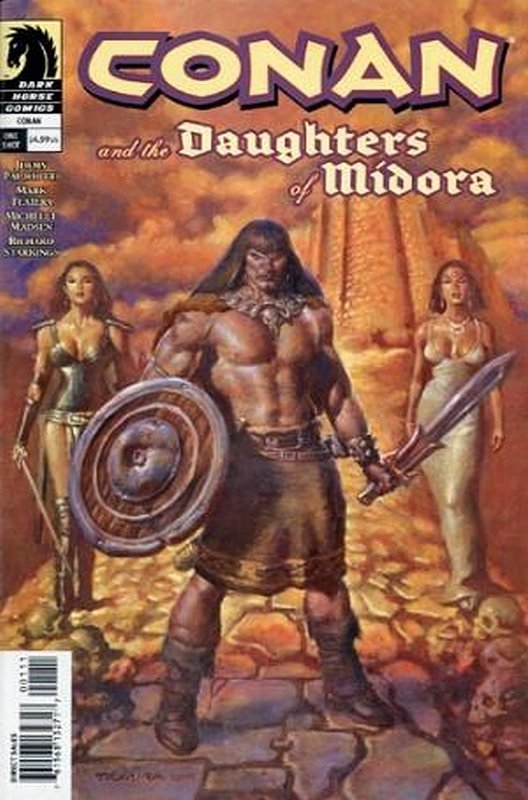 Cover of Conan & The Daughters of Midora (2004 One Shot) #1. One of 250,000 Vintage American Comics on sale from Krypton!