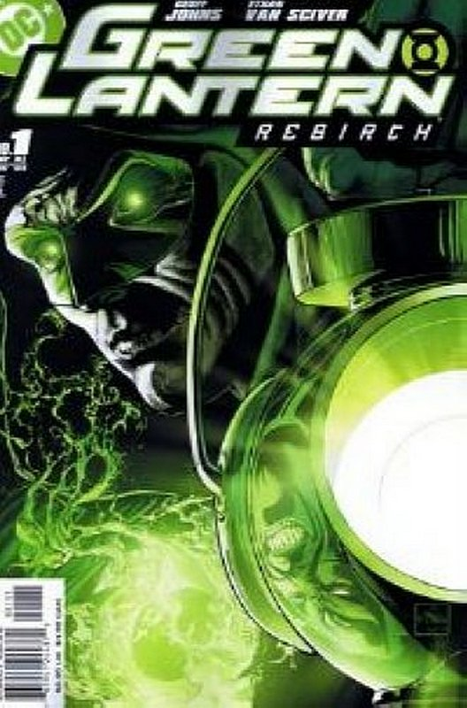 Cover of Green Lantern: Rebirth (2004 Ltd) #1. One of 250,000 Vintage American Comics on sale from Krypton!