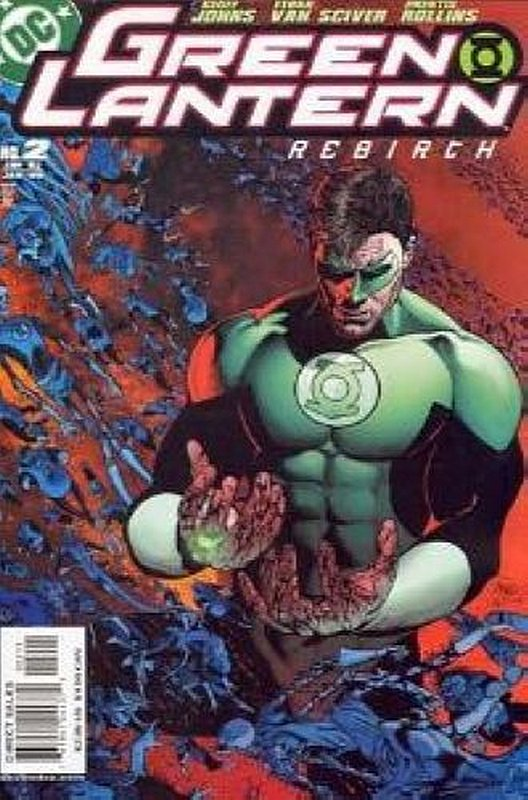 Cover of Green Lantern: Rebirth (2004 Ltd) #2. One of 250,000 Vintage American Comics on sale from Krypton!