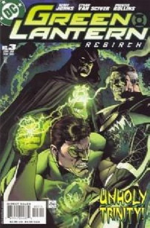 Cover of Green Lantern: Rebirth (2004 Ltd) #3. One of 250,000 Vintage American Comics on sale from Krypton!