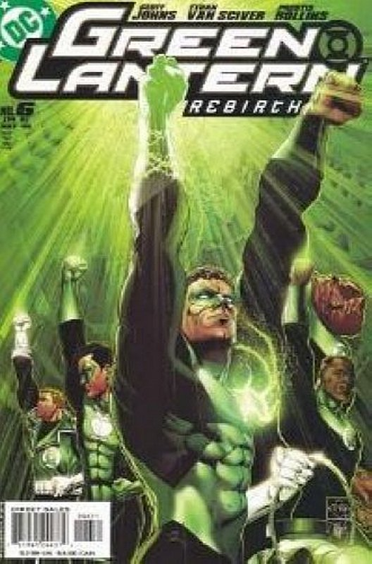Cover of Green Lantern: Rebirth (2004 Ltd) #6. One of 250,000 Vintage American Comics on sale from Krypton!