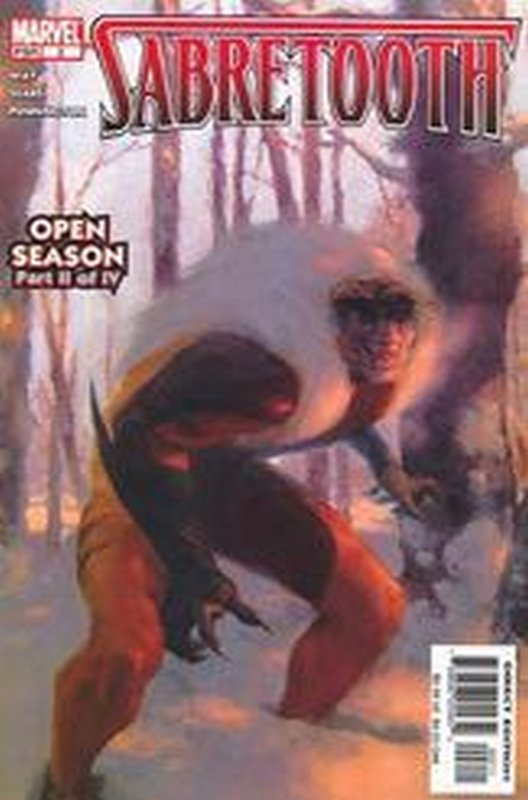 Cover of Sabretooth (2004 Ltd) #2. One of 250,000 Vintage American Comics on sale from Krypton!