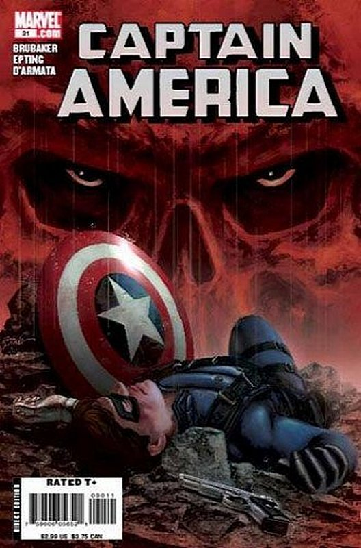 Cover of Captain America (Vol 5) #31. One of 250,000 Vintage American Comics on sale from Krypton!