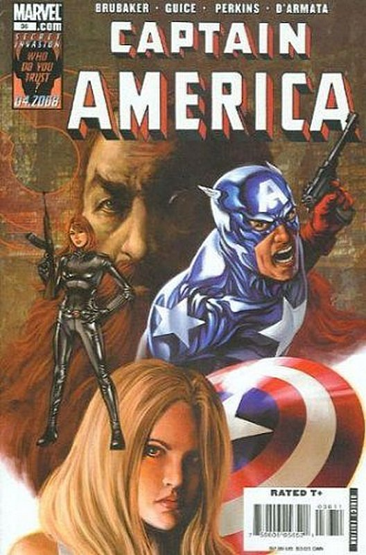 Cover of Captain America (Vol 5) #36. One of 250,000 Vintage American Comics on sale from Krypton!