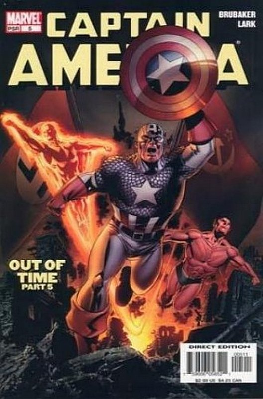 Cover of Captain America (Vol 5) #5. One of 250,000 Vintage American Comics on sale from Krypton!
