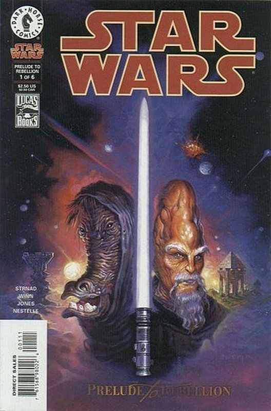 Cover of Star Wars: Prelude to Rebellion (1998 Ltd) #1. One of 250,000 Vintage American Comics on sale from Krypton!