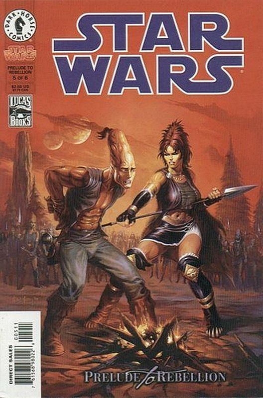 Cover of Star Wars: Prelude to Rebellion (1998 Ltd) #5. One of 250,000 Vintage American Comics on sale from Krypton!