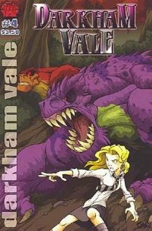 Cover of Darkham Vale (Vol 1) #4. One of 250,000 Vintage American Comics on sale from Krypton!