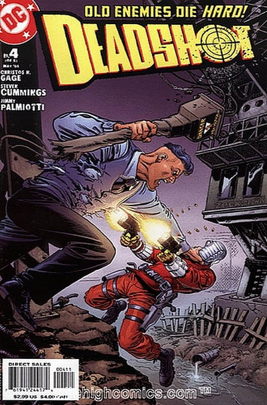 Cover of Deadshot (2005 Ltd) #4. One of 250,000 Vintage American Comics on sale from Krypton!