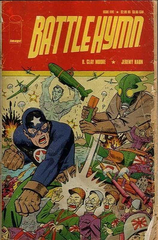 Cover of Battle Hymn (2004 Ltd) #5. One of 250,000 Vintage American Comics on sale from Krypton!