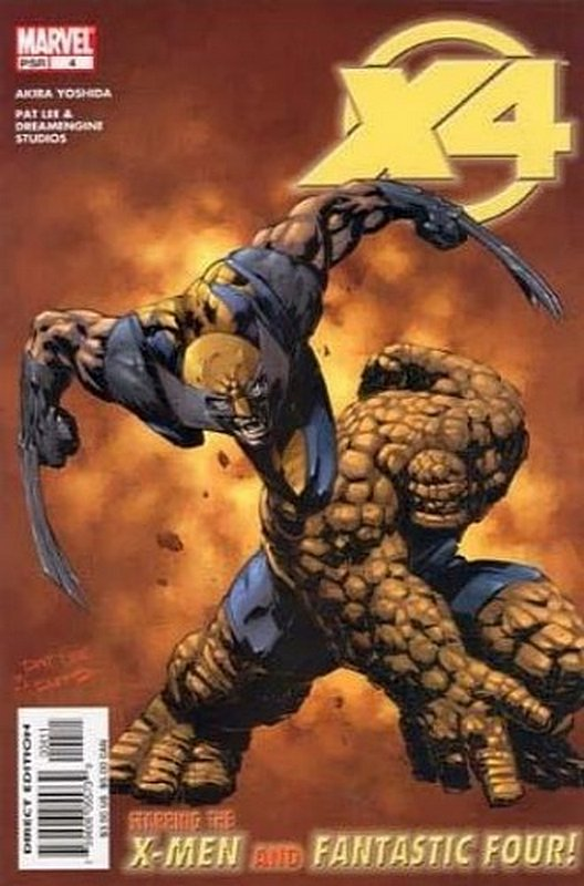 Cover of X-Men/Fantastic Four (2004 Ltd) #4. One of 250,000 Vintage American Comics on sale from Krypton!