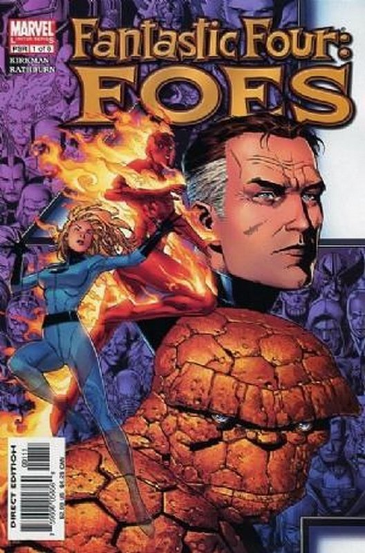 Cover of Fantastic Four: Foes (2005 Ltd) #1. One of 250,000 Vintage American Comics on sale from Krypton!