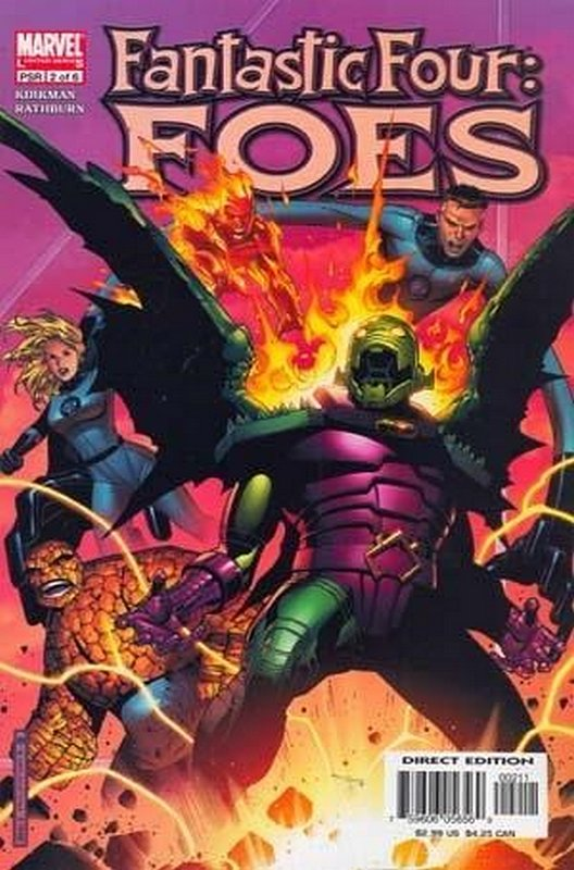 Cover of Fantastic Four: Foes (2005 Ltd) #2. One of 250,000 Vintage American Comics on sale from Krypton!