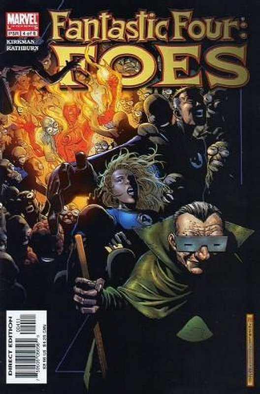 Cover of Fantastic Four: Foes (2005 Ltd) #4. One of 250,000 Vintage American Comics on sale from Krypton!