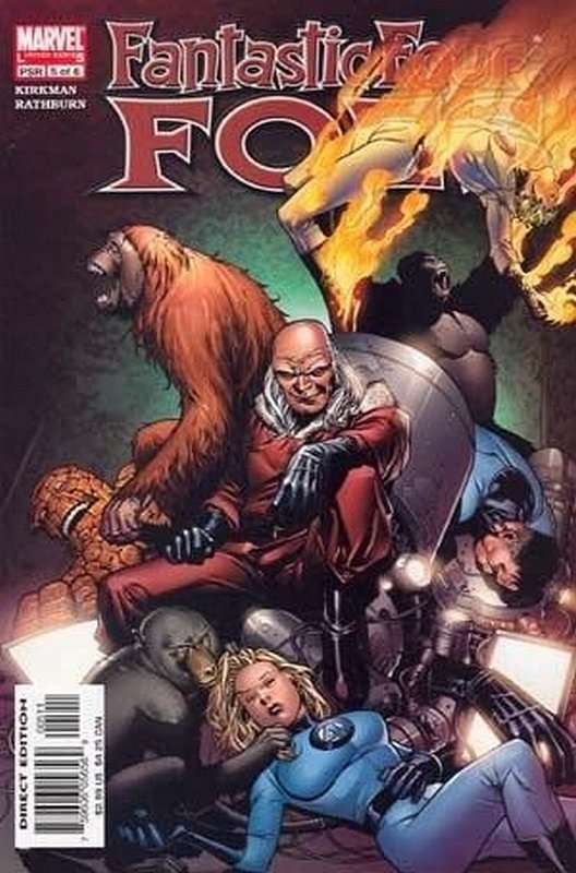 Cover of Fantastic Four: Foes (2005 Ltd) #5. One of 250,000 Vintage American Comics on sale from Krypton!
