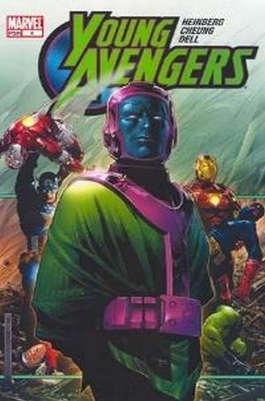 Cover of Young Avengers (Vol 1) #4. One of 250,000 Vintage American Comics on sale from Krypton!