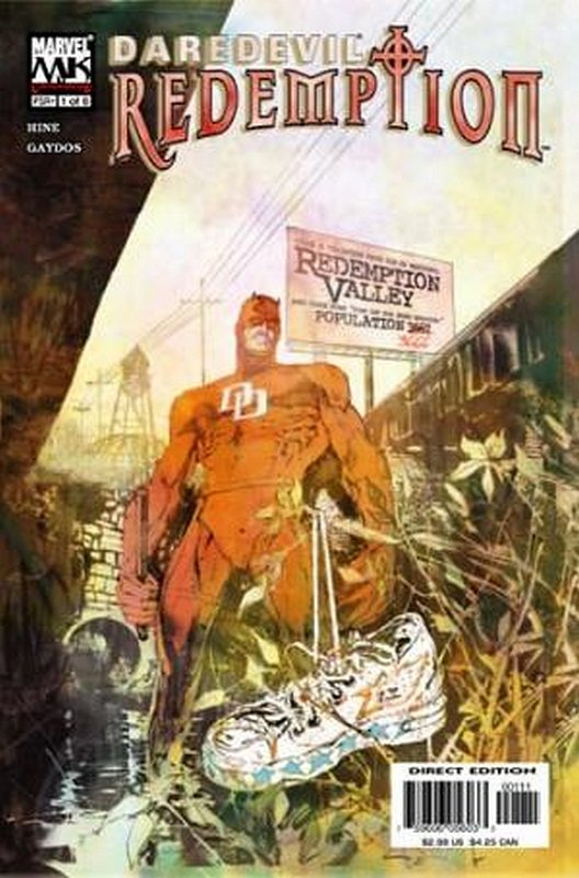 Cover of Daredevil: Redemption (2005 Ltd) #1. One of 250,000 Vintage American Comics on sale from Krypton!