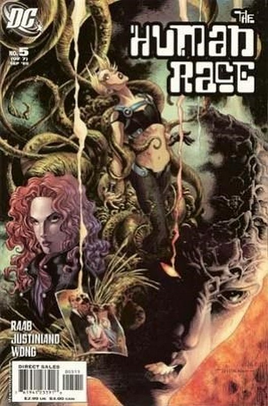 Cover of Human Race (2005 Ltd) #5. One of 250,000 Vintage American Comics on sale from Krypton!