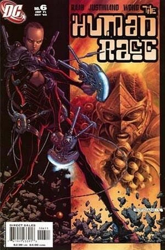 Cover of Human Race (2005 Ltd) #6. One of 250,000 Vintage American Comics on sale from Krypton!